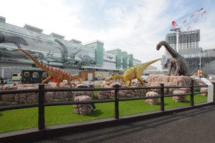 福井駅前 恐竜造形物修景業務