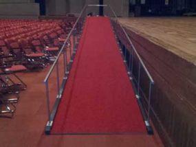 フェニックスプラザ大ホール舞台登壇用スロープ