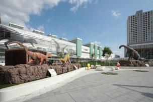 福井駅前 恐竜モニュメント周辺修景再整備工事